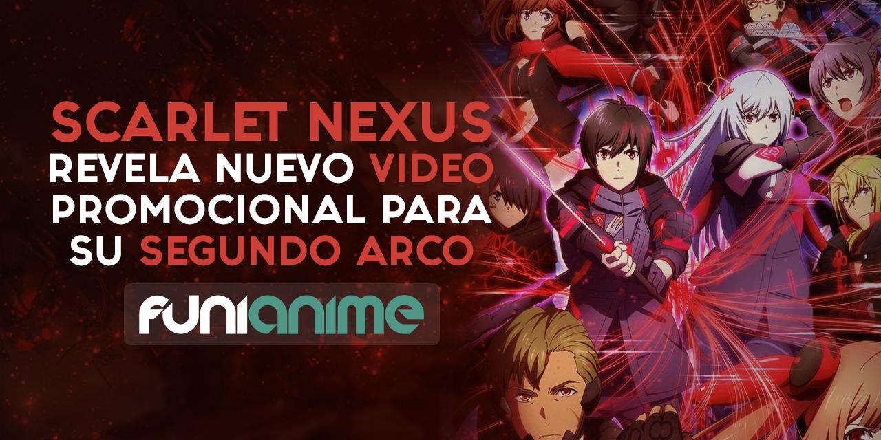 Scarlet Nexus revela un nuevo video promocional para su segundo arco