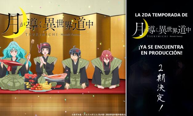 """La 2da temporada de """"TSUKIMICHI: Moonlit Fantasy"""" ya se encuentra en producción"""