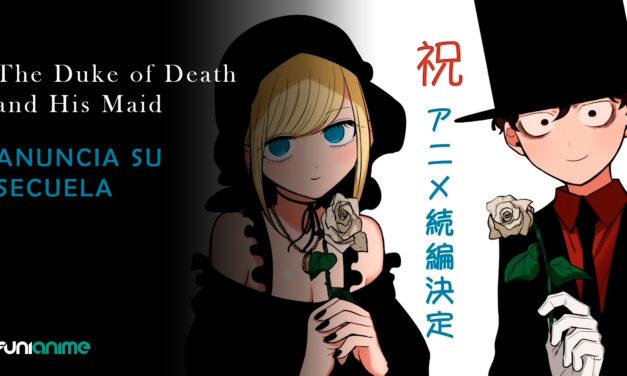 El anime The Duke of Death and his Black Maid tendrá una secuela