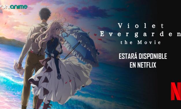 """""""Violet Evergarden The Movie"""" ya tiene fecha de estreno para su llegada a Netflix"""