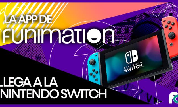 @funimation_la ya disponible en NintendoSwitch desde Sudamérica