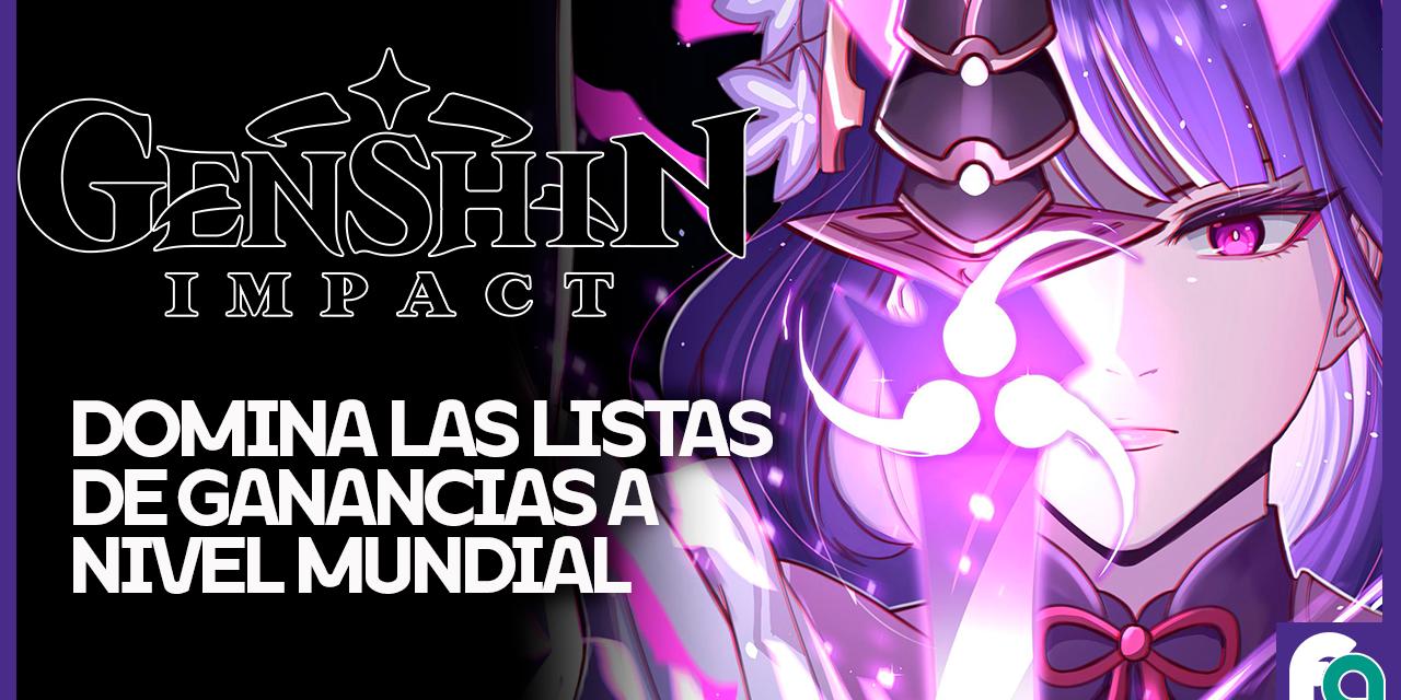 Genshin Impact rompe records de ventas durante Septiembre.