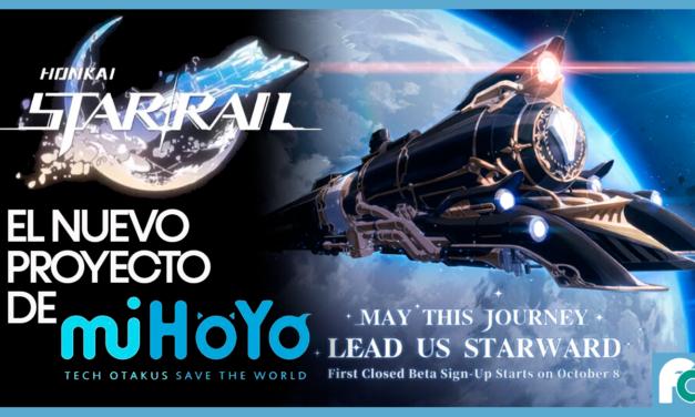 Honkai: Star Rail es el nuevo proyecto de los creadores de Genshin Impact.