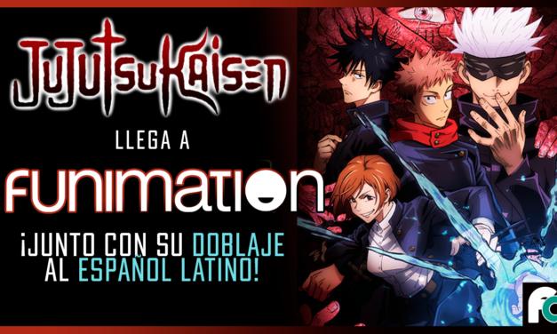 El exitoso anime Jujutsu Kaisen llega con subtítulos y doblaje a Funimation