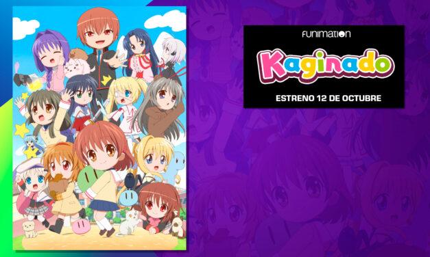 El anime KAGINADO se estrenará en Funimation