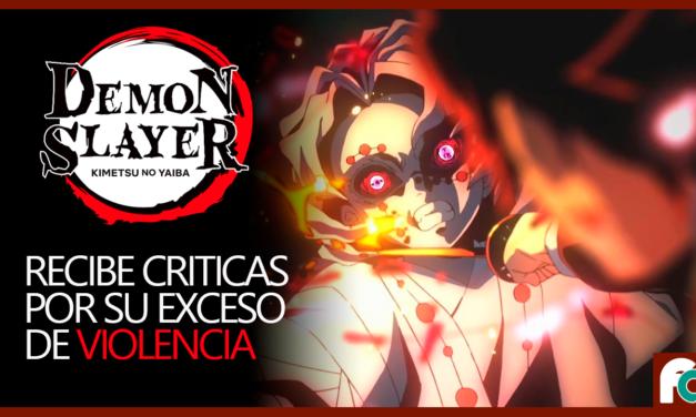 Demon Slayer recibe críticas por exceso de violencia