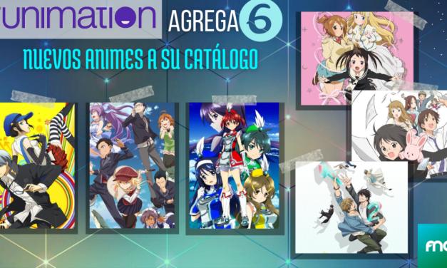6 nuevas series se unirán al catalogo de Funimation