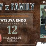 El manga de SPY x FAMILY superó las 12 millones de copias en circulación.
