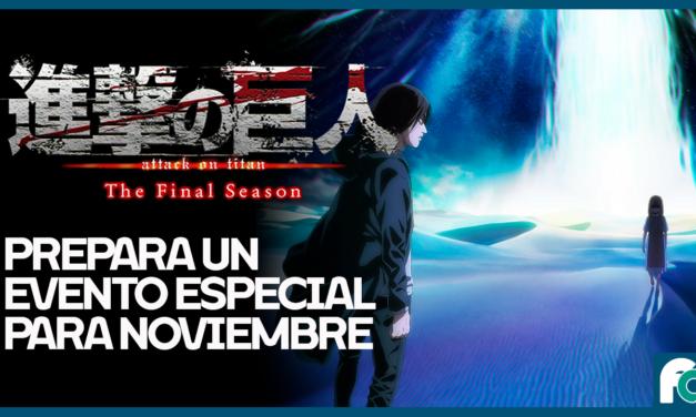Shingeki no Kyojin tendrá un evento especial en noviembre